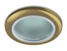 WR1 GD Светильник ЭРА влагозащищенный MR16,12V220V, 50W золото (10/100/2000)