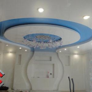 Двухцветные натяжные потолки | Арсеньев | Стандарт